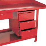 Sealey 3 Drawer Unit for AP10 & AP30 Series Benches+G49G3G3:G79