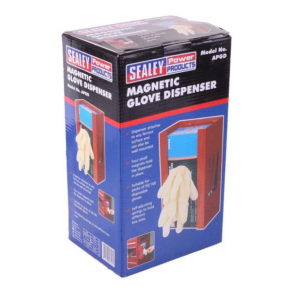 Sealey APGD Magnetic Glove Dispenser Red Thumbnail 5