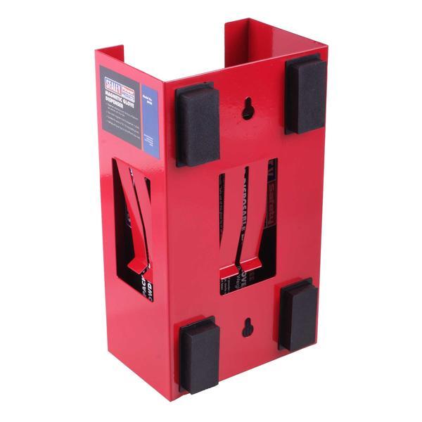 Sealey APGD Magnetic Glove Dispenser Red Thumbnail 2
