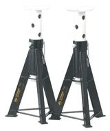 Sealey AS12 Two Axle Stands 12 Tonne Capacity per Stand 24 Tonne per Pair
