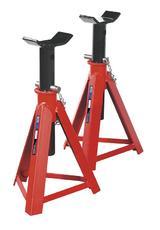 Sealey 2 Axle Stands 7.5 Tonne Capacity per Stand 15 Tonne per Pair Medium