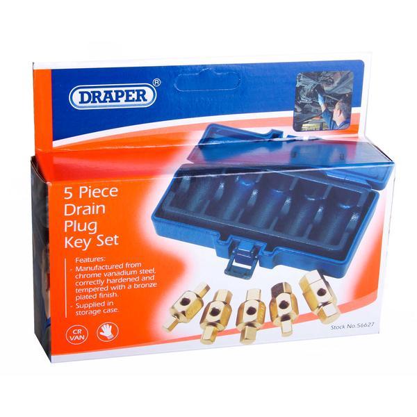 Draper 56627 DpkSet 5 Piece Sump Drain Plug Set Thumbnail 7