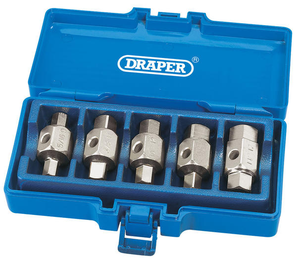 Draper 56627 DpkSet 5 Piece Sump Drain Plug Set Thumbnail 2