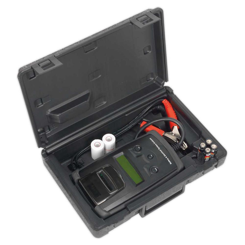 Sealey BT2003 Digital Battery & Alternator Tester with Printer