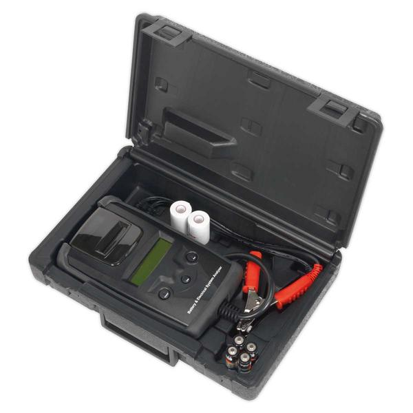 Sealey BT2003 Digital Battery & Alternator Tester with Printer Thumbnail 4