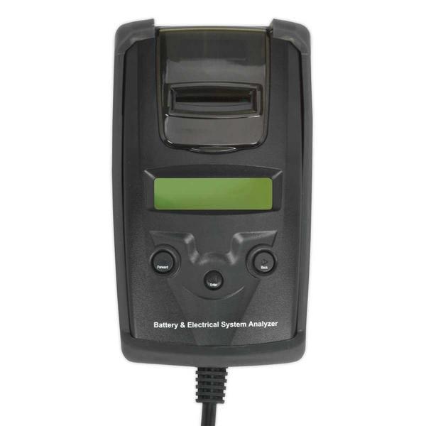 Sealey BT2003 Digital Battery & Alternator Tester with Printer Thumbnail 3