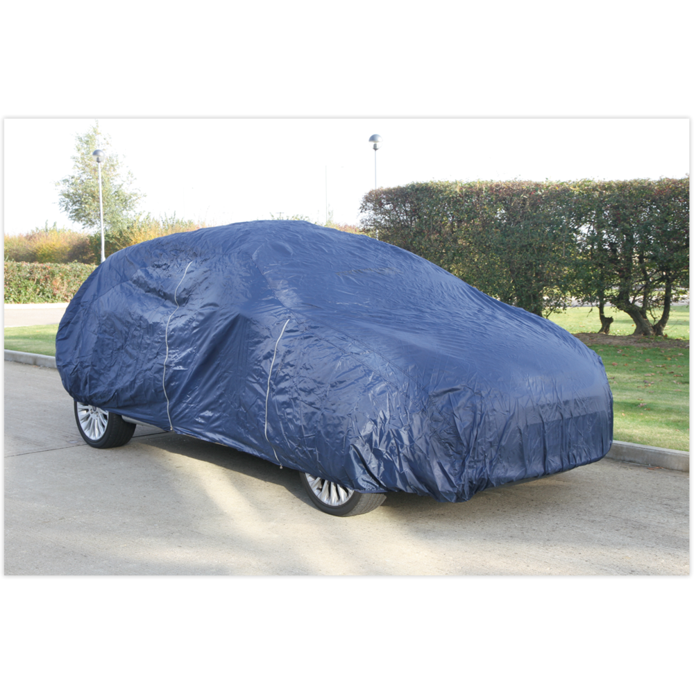 Sealey CCEM Car Cover Lightweight Medium 4060 x 1650 x 1220mm
