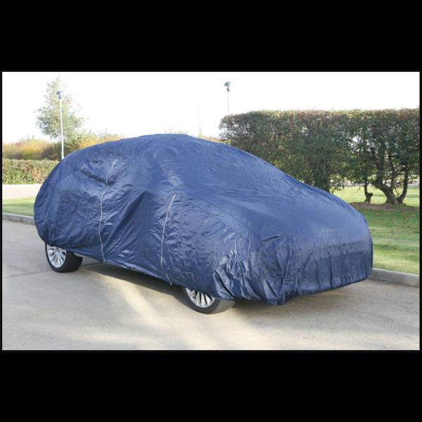 Sealey CCEM Car Cover Lightweight Medium 4060 x 1650 x 1220mm Thumbnail 1