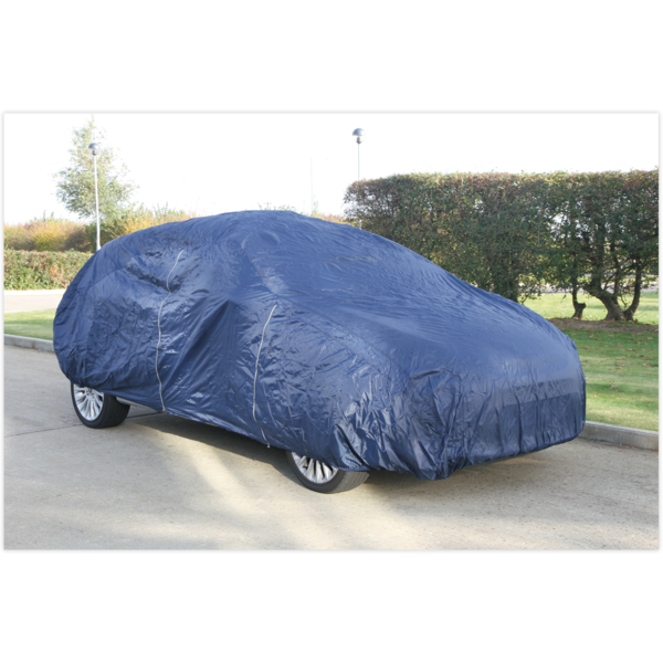 Sealey CCES Car Cover Lightweight Small 3800 x 1540 x 1190mm Thumbnail 1