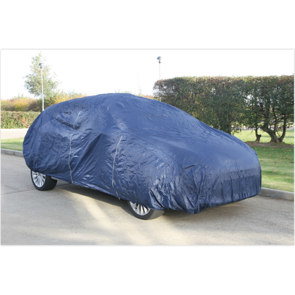 Sealey SECCEXL Car Cover Lightweight X-Large 4830 x 1780 x 1220mm Thumbnail 1