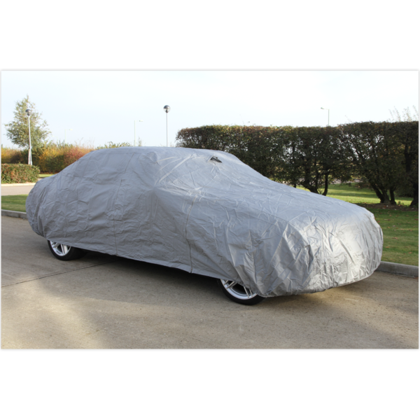Sealey CCS Car Cover Small 3800 x 1540 x 1190mm Thumbnail 1