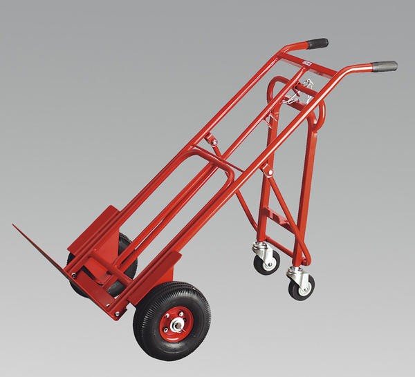 Sealey CST989 Sack Truck 3-in-1 with Pneumatic Tyre 250kg Capacity Thumbnail 3