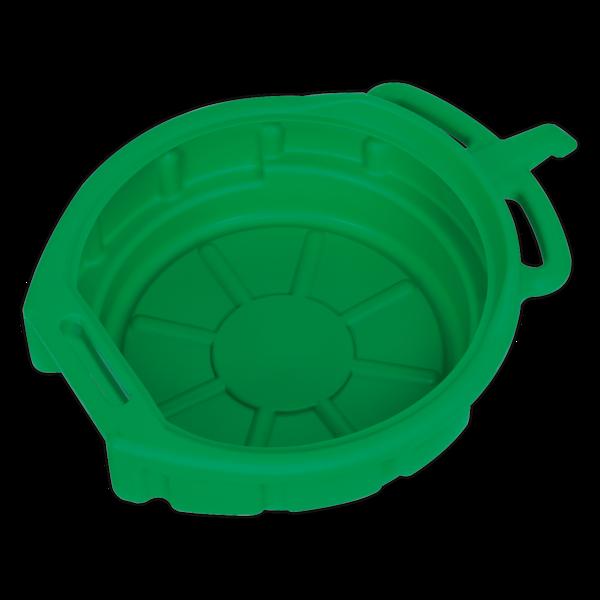Sealey DRP04 Antifreeze/Fluid Drain Pan 17ltr Thumbnail 1