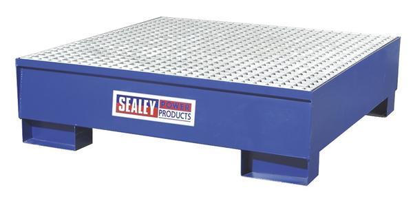 Sealey DRP11 Barrel Bund 1200 x 1200 x 275mm Thumbnail 1