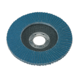 Sealey FD11560 Flap Disc Zirconium Ø115mm 22mm Bore 60 Grit