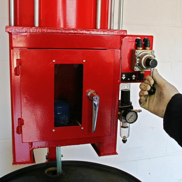 Sealey HFC08 Pneumatic Oil Filter Crusher Thumbnail 8