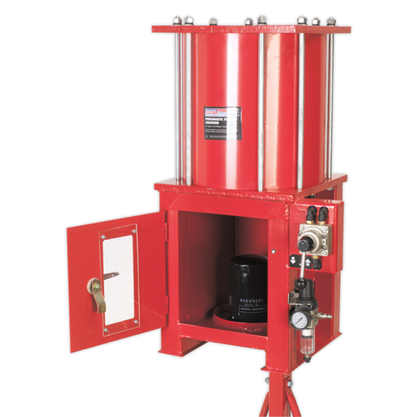 Sealey HFC08 Pneumatic Oil Filter Crusher Thumbnail 3