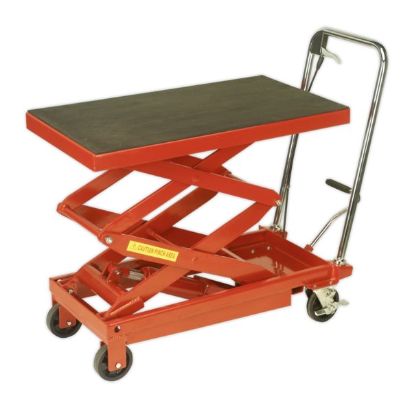Sealey HPT400H Hydraulic Platform Truck 400kg High Lift Thumbnail 1