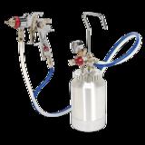 Sealey HVLP-79/P HVLP Pressure Pot System with Spray Gun & Hoses 1.7mm Set-Up