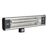 Sealey High Efficiency Carbon Fibre Infrared Wall Heater 1800W/230V