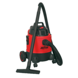 Sealey PC200 Vacuum Cleaner Wet & Dry 20ltr 1250W/230V