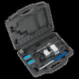 "Sealey PFT/02 Pipe Flaring Kit 3/16"" SAE, 4.75mm SAE & DIN"