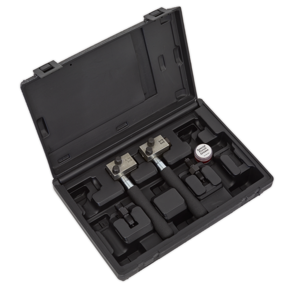 Sealey PFT11 On-Vehicle Micro Pipe Flaring Tool Set