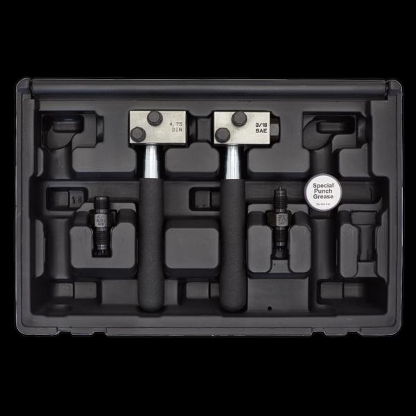 Sealey PFT11 On-Vehicle Micro Pipe Flaring Tool Set Thumbnail 3