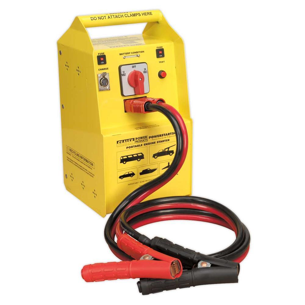 Sealey POWERSTART500 PowerStart Emergency Power Pack 500hp Start 12/24V