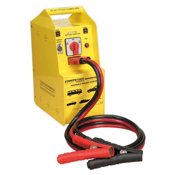 Sealey POWERSTART900 PowerStart Emergency Power Pack 900hp Start Battery 12/24V Thumbnail 1