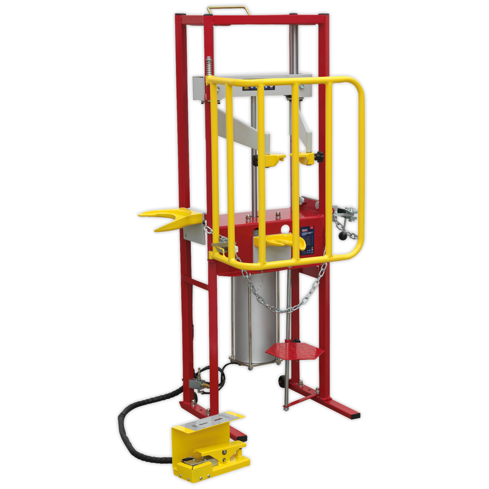 Sealey RE300 Coil Spring Compressor Air Operated 1000kg