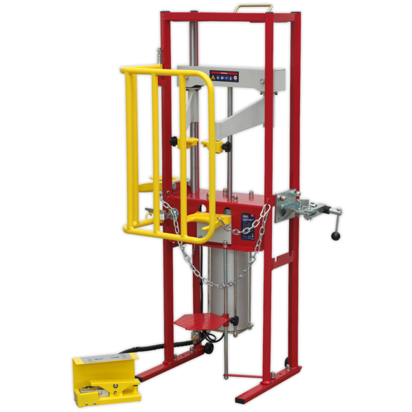 Sealey RE300 Coil Spring Compressor Air Operated 1000kg Thumbnail 3