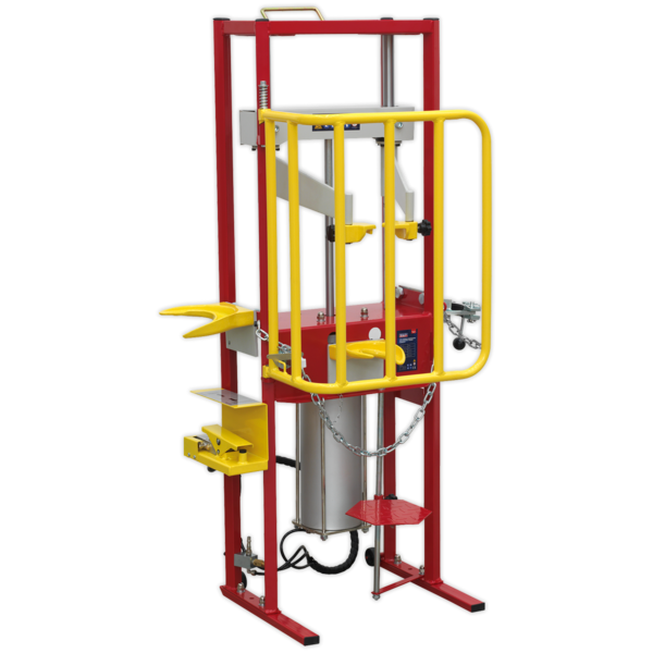 Sealey RE300 Coil Spring Compressor Air Operated 1000kg Thumbnail 9