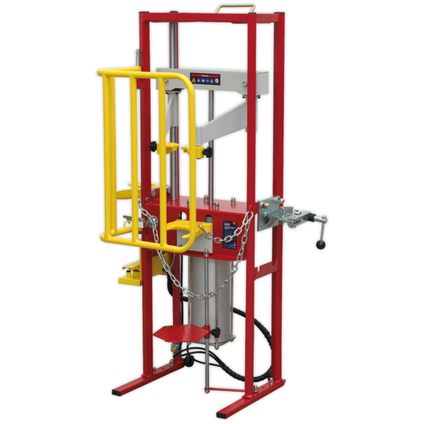 Sealey RE300 Coil Spring Compressor Air Operated 1000kg Thumbnail 7
