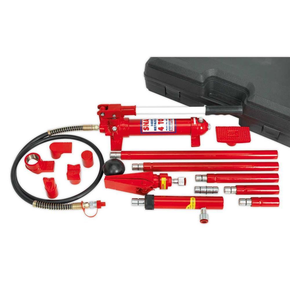 Sealey RE97/4 Hydraulic Body Repair Kit 4 Tonne Snap Type