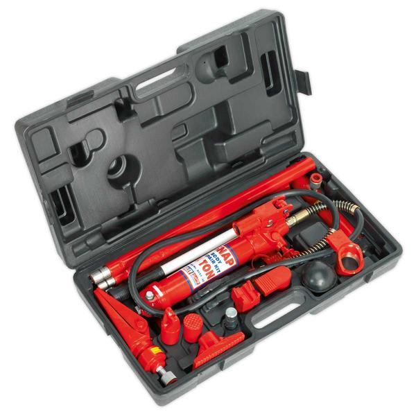 Sealey RE97/4 Hydraulic Body Repair Kit 4 Tonne Snap Type Thumbnail 3