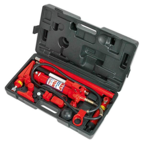 Sealey RE97/4 Hydraulic Body Repair Kit 4 Tonne Snap Type Thumbnail 2