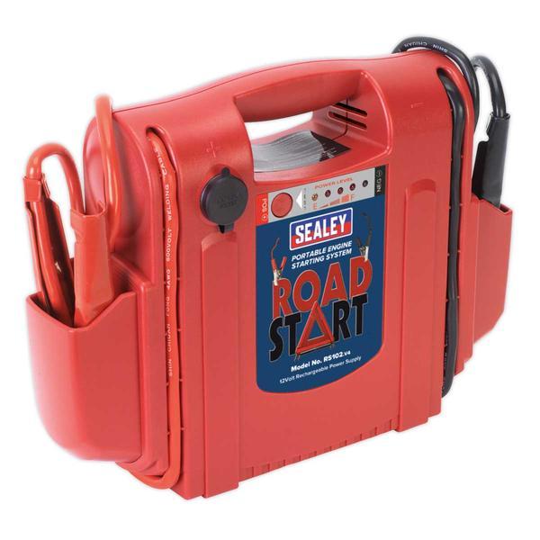 Sealey RS102 RoadStart Emergency Power Pack 12V 1600 Peak Amps Thumbnail 1