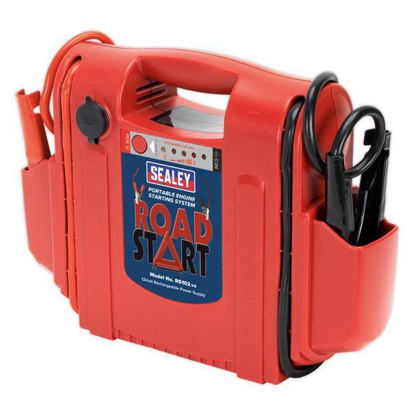 Sealey RS102 RoadStart Emergency Power Pack 12V 1600 Peak Amps Thumbnail 2