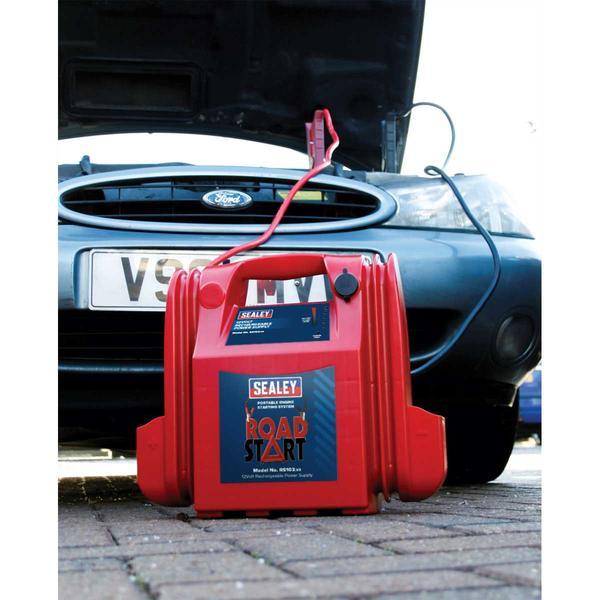 Sealey RS103 RoadStart Emergency Power Pack 12V 3200 Peak Amps Thumbnail 4