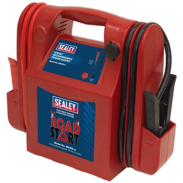 Sealey RS103 RoadStart Emergency Power Pack 12V 3200 Peak Amps Thumbnail 5