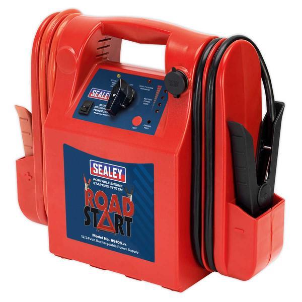 Sealey RS105 RoadStart Emergency Power Pack 12/24V 3200/1600 Peak Amps Thumbnail 2