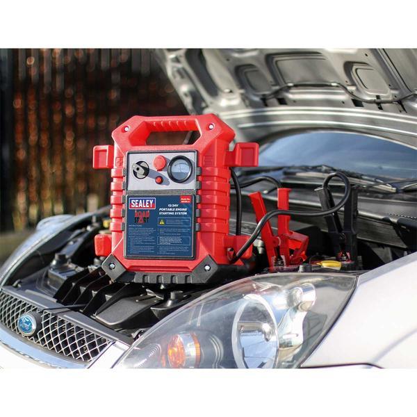 Sealey RS125 RoadStart Emergency Power Pack 12/24V 3000 Peak Amps Thumbnail 2