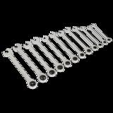 Sealey S0634 Ratchet Combination Spanner Set 12pc Metric