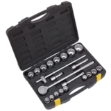 "Sealey Socket Set 22pc 3/4"" Sq Drive 12pt Metric"