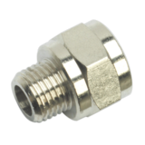 "Sealey SA1/1438F Adaptor 1/4"" BSPT Male to 3/8"" BSP Female"
