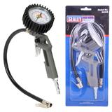 Sealey SA302 Tyre Inflator with Gauge For Use With A Compressor