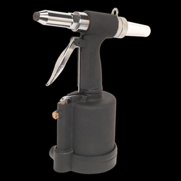 "Sealey SA314 Air Riveter 1/4"" Steel Aluminium & Stainless Steel Rivets  Thumbnail 1"