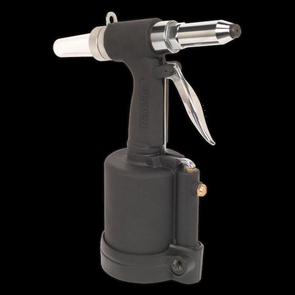"Sealey SA314 Air Riveter 1/4"" Steel Aluminium & Stainless Steel Rivets  Thumbnail 2"