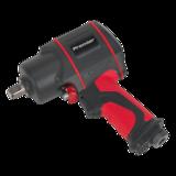 """Sealey SA6002 Air Impact Wrench 1/2"""" Sq Drive Twin Hammer"""